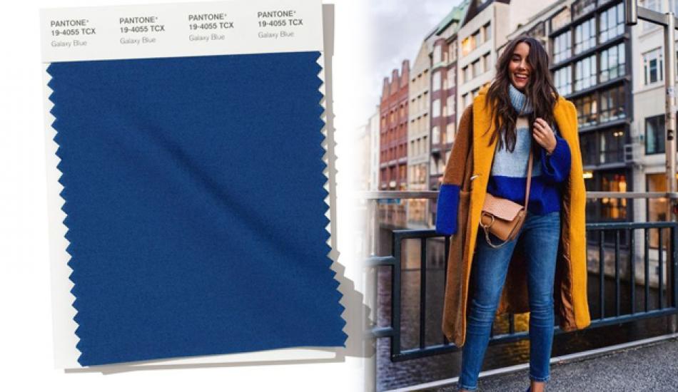 Pantone 2020 rengi klasik mavi ile kombin önerileri