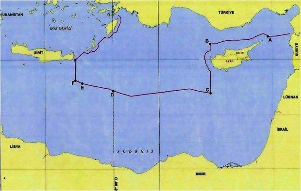 Akdeniz'de sınırları değiştiren yeni harita!