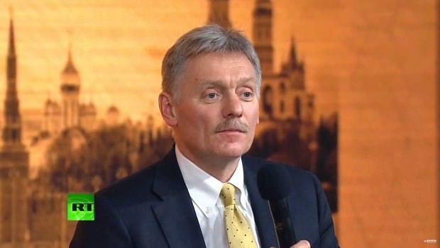 Basın toplantısında moderatörlüğü Kremlin Sözcüsü Dimitry Peskov yaptı...