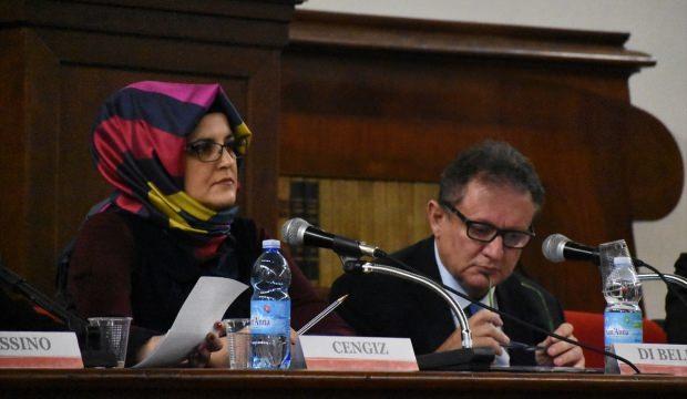 Kaşıkçı'nın nişanlısı İtalya'da Avrupa'yı eleştirdi