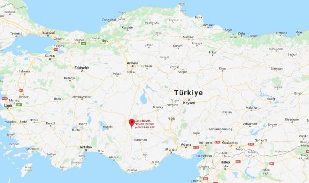 Çatalhöyük, Konya'da bulunuyor.