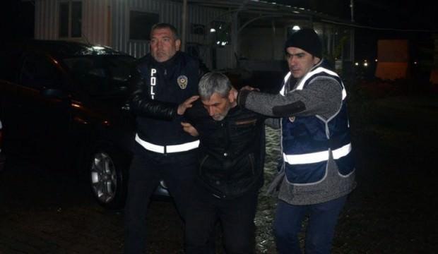 27 yıl hapis cezasıyla aranan hükümlü hırsızlık yaparken yakalandı