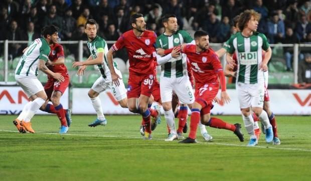 Giresunspor ile Altınordu yenişemedi: 1-1