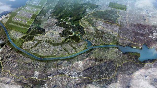 """Son dakika haber.... AFAD, Kanal İstanbul Projesi'nin defaatle depremle ilişkilendirilmesi nedeniyle kamuoyunun doğru bilgilendirilmesi için açıklama yayımlamak gereği duyulduğunu bildirerek """"Kanal İstanbul ve deprem ilişkisine atfedilen deprem tehlike ve riskleri doğru değildir."""" açıklaması yaptı."""