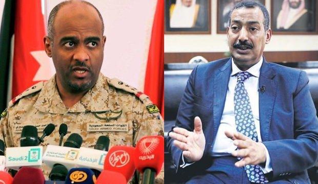 Suudi Arabistan eski İstihbarat Başkan Yardımcısı Ahmed Asir (solda), Suudi Arabistan'ın eski İstanbul Başkonsolosu Muhammed el Uteybi (sağda)