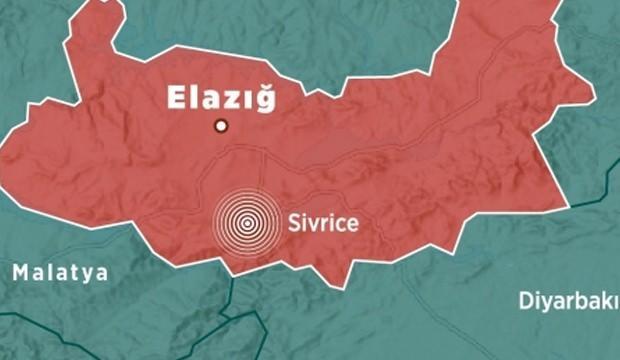 Son depremler: Elazığ'da şiddetli bir deprem meydana geldi