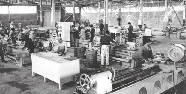 Gümüş Motor fabrikasından bir fotoğraf.