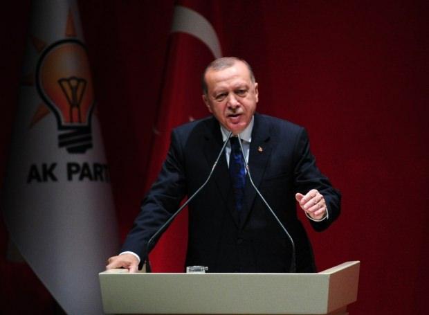 AK Parti'nin Genişletilmiş İl Başkanları Toplantısı'ndan bir kare...