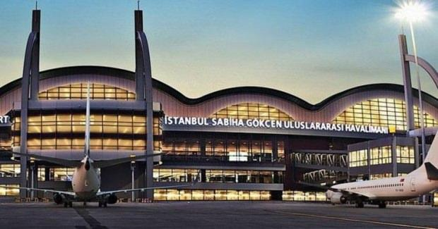 Sabiha Gökçen Havalimanı.