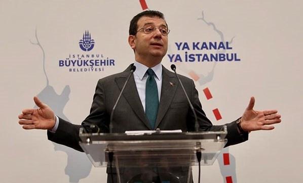 İstanbul Büyükşehir Belediye Başkanı Ekrem İmamoğlu.