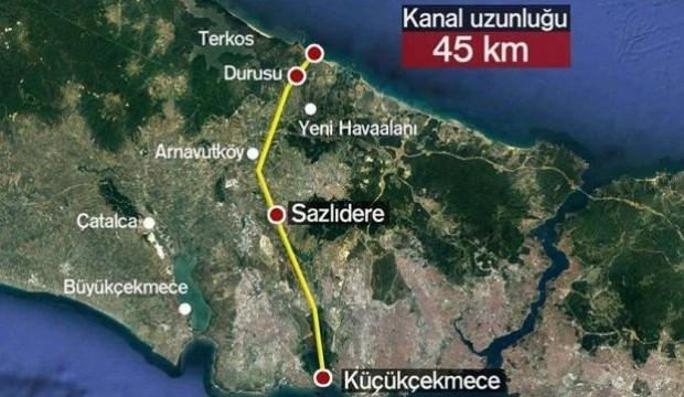 Kanal İstanbul güzergahı neresi?