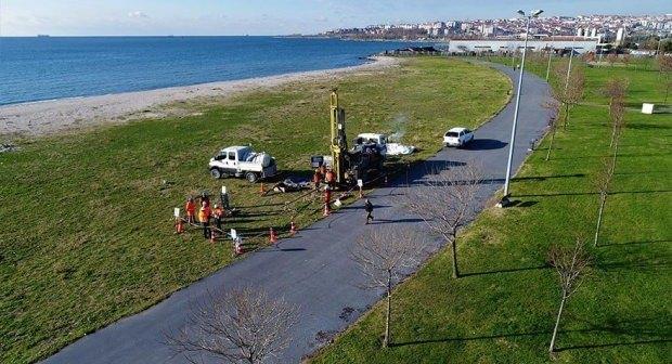 Kanal İstanbul sondaj çalışmaları