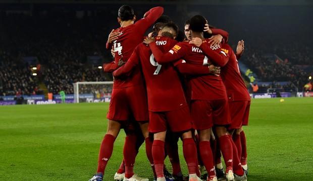 Liverpool Leicester'i dağıttı!