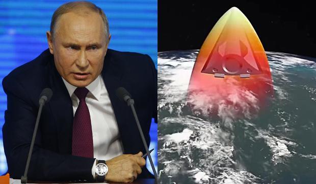 Putin'den dünyayı korkutan sözler: Bu füze ve bu tuşla her yeri vurabilirim