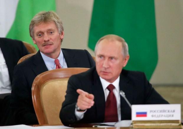 Kremlin Sözcüsü Dmitry Peskov...