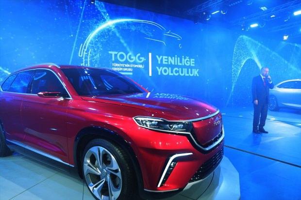 Türkiye'nin tanıtımını yaptığı C-SUV model yerli otomobil