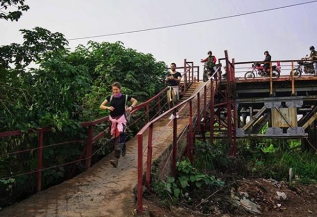 Burcu Biricik ve eşi Emre Yetkin Vietnamda