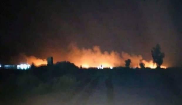 Bağdat'taki ikinci ABD saldırısından görüntüler