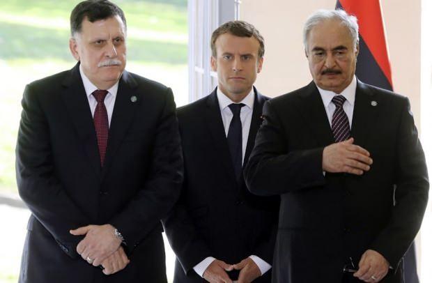 Al Sarrac, Macron ve Hafter....