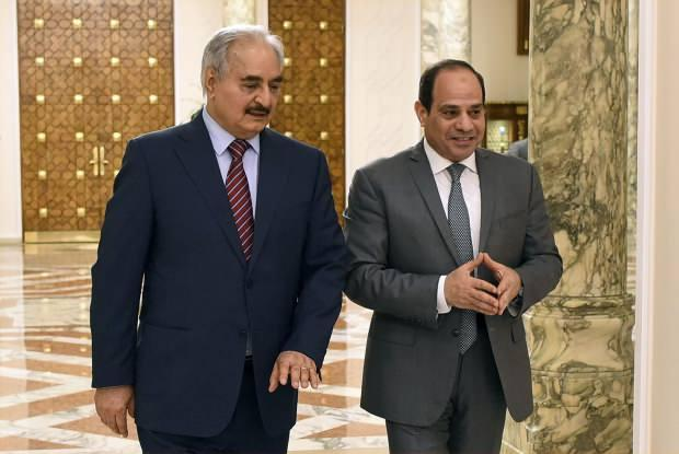 Hafter ve Sisi....