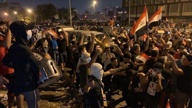 ABD Kasım Süleymani'yi öldürdü, Bağdat halkı sevinç gösterileri düzenledi!