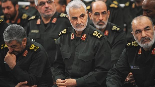 Devrim Muhafızları Ordusu Kudüs Gücü Komutanı Kasım Süleymani