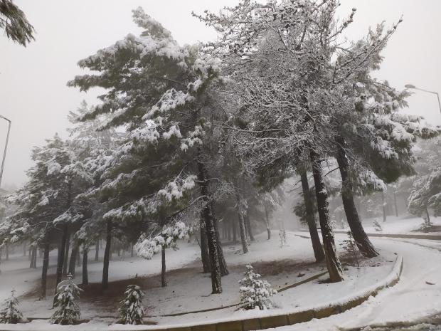 Gaziantep'te mevsimin ilk karı yağdı - Gaziantep'te okullar tatil mi?