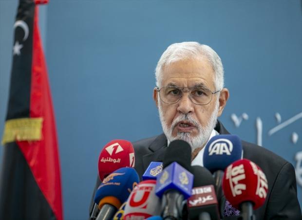 Libya Ulusal Mutabakat Hükümeti (UMH) Dışişleri Bakanı Muhammed et-Tahir Seyyale...
