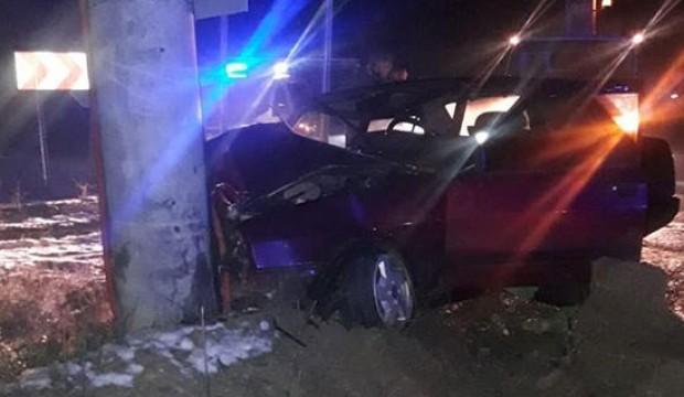 Afyon'da kaza! 1 ölü 1 yaralı