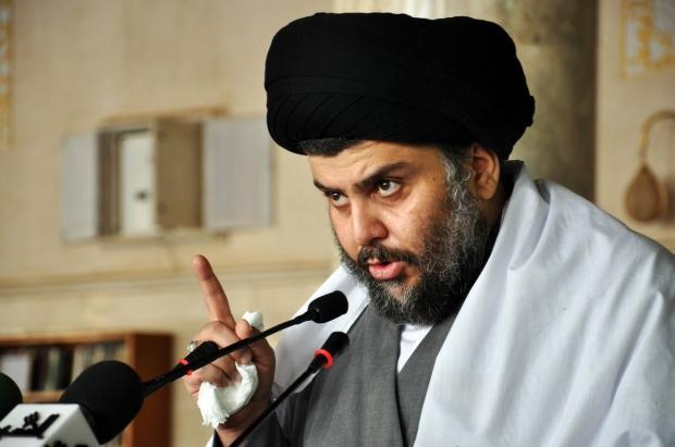 Iraklı Şii lider Mukteda es-Sadr....