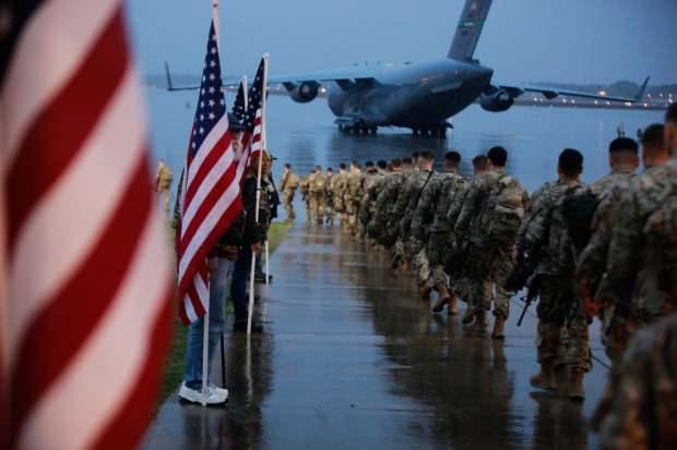 Ortadoğu'ya hareket eden ABD askerleri
