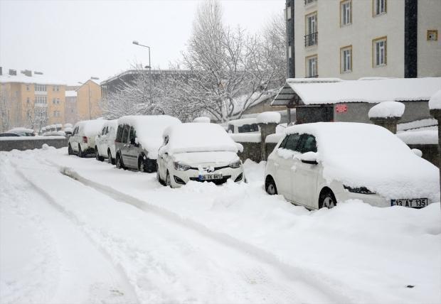 Van ve Bitlis'te bazı yollar kapandı