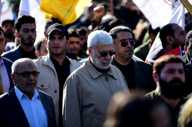 Haşdi Şabi örgütünün Başkan Yardımcısı Ebu Mehdi el-Mühendis