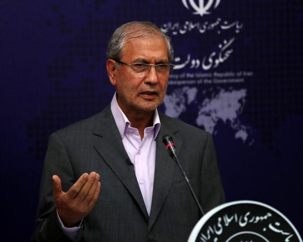 İran Hükümet Sözcüsü Ali Rebii...