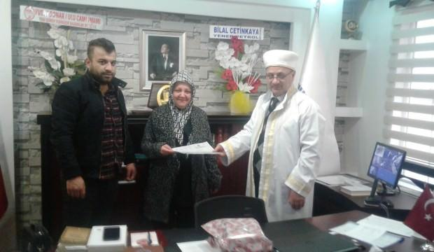 Moldovalı gelin Müslüman olup bu ismi aldı