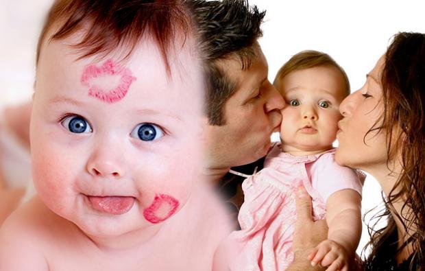 bebeklerde öpücük hastalığı nedir?