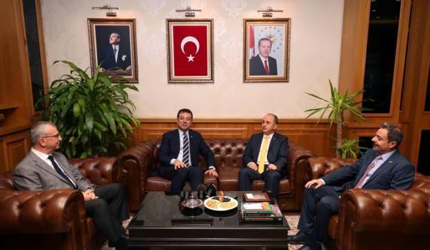 Ekrem İmamoğlu, Bağcılar Belediyesini ziyaret etti