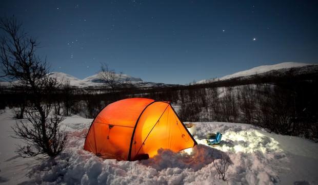 Türkiye'de kışın kamp yapılacak en güzel 7 rota