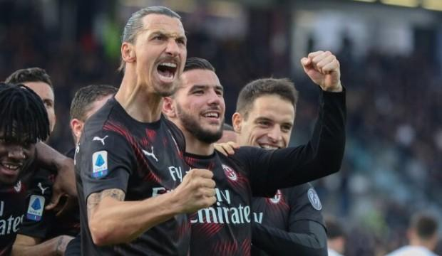 Zlatan attı, Milan kazandı
