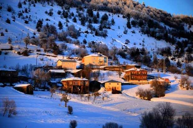 Yurduntepe Kayak Merkezi konaklama mekanları