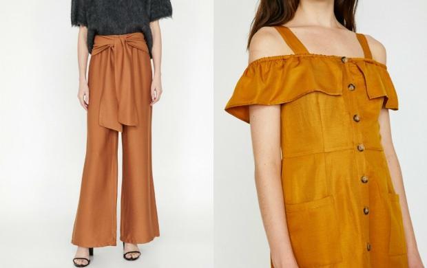 turuncu ile uyumlu renk kıyafet
