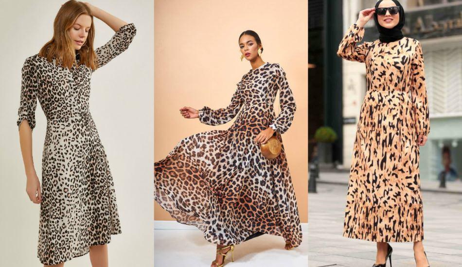 Leopar desen kıyafetler nasıl kombinlenir? 2020 leopar desen modeller