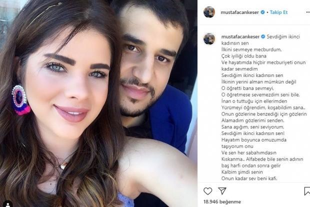 Mustafa Can Keser Instagram paylaşımı