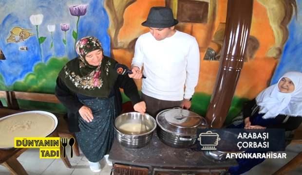 Afyonkarahisar'ın Sıra Yemeği Dünyanın Tadı'nda