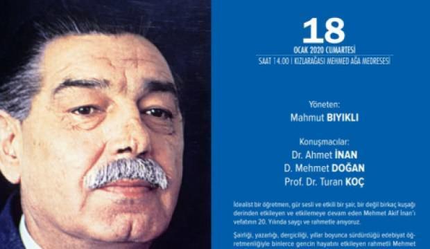 Akif İnan TYB İstanbul'da Anılacak