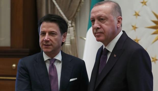 Erdoğan ile İtalya Başbakanı Conte arasında önemli görüşme
