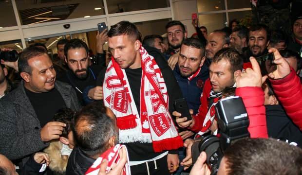 Podolski: 'Antalyaspor'a geldim çünkü...'