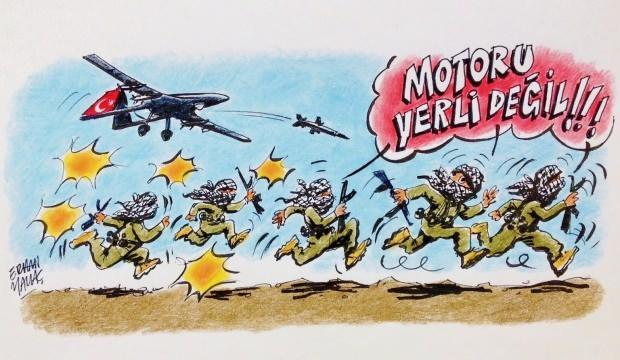 Haluk Bayraktar'dan CHP'li Öztrak'a karikatürlü cevap