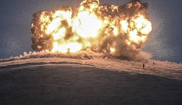 Irak-Suriye sınırı yakınlarında patlama: 4 yaralı