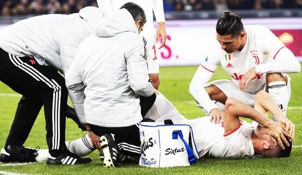 Juventus'tan Merih açıklaması! Kaç ay yok?